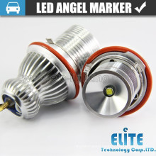 Popular led color changing angel eyes headlights with E39-10W