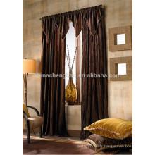 Dernières conceptions de rideaux turcs élégant rideaux d'hôtel usés