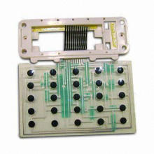Double-sided Flexible PCBs, Silver Paste Printing and Carbon Paste Printing, Touch Keys Used in Toys