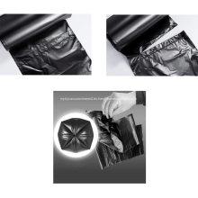 Bolsas de basura negras Sacos de basura