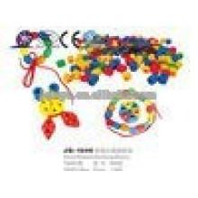 JQ1040 crianças DIY educacional plástico Beads Threading