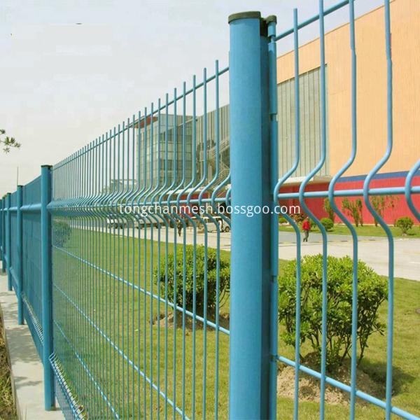 PVC coated metal Galvanized fencel