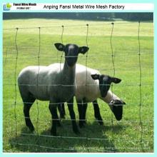 2.5mm de alta calidad de ovejas galvanizadas sumergidas calientes / pradera / campo de la cerca