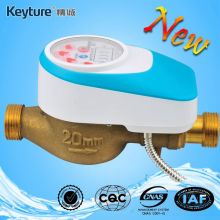 Wired Remote Valve Control AMR Water Meter(Light Blue)
