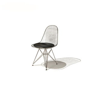 Metal Eames Sala da pranzo Wire Mesh Chair