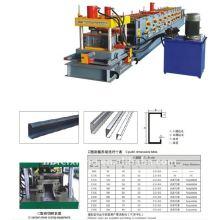 C z purline profile roll forming machine