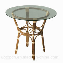Leisure Wicker Furniture Restaurant Outdoor Cafe Table (SP-AT221)