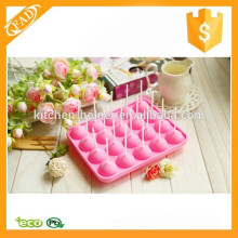 New products silica gel lollipop mold silicone molds