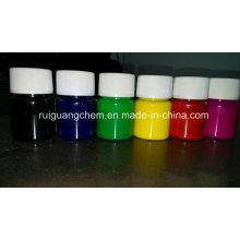 Pasta de pigmento vermelho para impressão