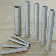 Tubulações quadradas de aço inoxidável soldadas bem polidas