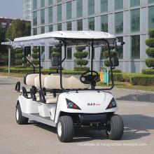 Carro de buggy de golfe elétrico de 6 lugares (DG-C6) com Ce aprovado