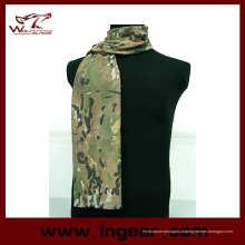 Airsoft táctico do exército Scrim camuflagem lenço máscara véu