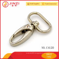 Fashionable metal snap hook with zinc alloy for bags
