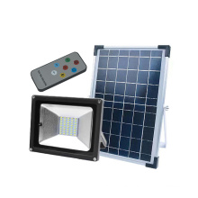 Solar Powered Slim IP65 Waterproof Outdoor Floodlight
