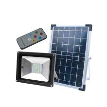 Projetor de exterior IP65 à prova d'água de potência solar magro