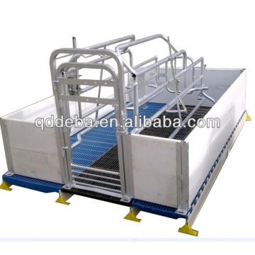 Mesa obstétrica de cerdas galvanizadas de alta calidad