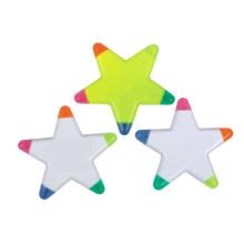Caneta de marca-texto em forma de estrela (0448)