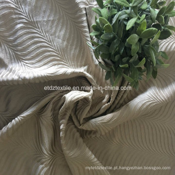2016 Nova poliéster 100% Shrinkage cortina de janela Jacquard