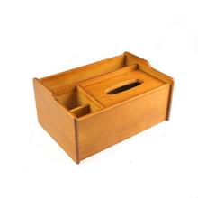 Caixa de lenços de madeira artesanal de alta qualidade para hotel