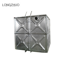 Hot Dip Galvanizing Steel Vattentank