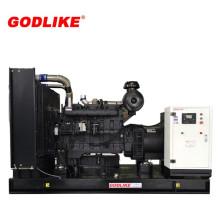 375kVA/300kw масла Shangchai Двигатель открытого типа дизель-генератор набор
