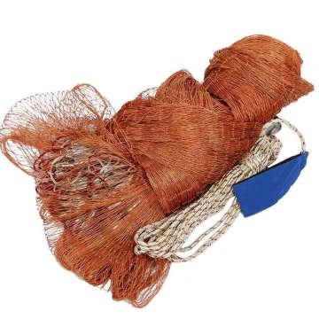 Factory Price Leads Fishing Net Cast Drawstring Cast Net