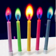 color changing birthday magic candle