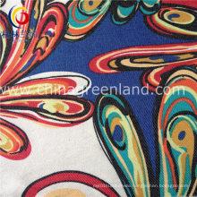 Twill Printed Imitate Denim Fabric of 97%Cotton 3%Spandex (GLLML177)
