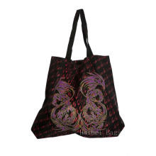 RPET Shopping Tote Bag, Button Gusset Only (hbrp-4)
