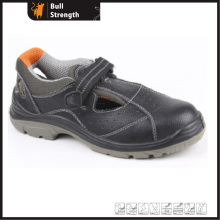 Summer Sandal Leather Safety Shoes with Steel Toecap (SN5214)