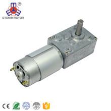12V DC Schneckengetriebemotor 50kg-cm für Wasserventil