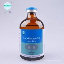 Inyección de enrofloxacina al 5%, antibióticos fluoroquinolónicos