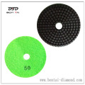 100mm white or green Wet Polishing Pads for Concrete