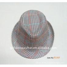 2014 Hommes Cheap Fashion Panama chapeaux chapeaux en fedora de coton à vendre