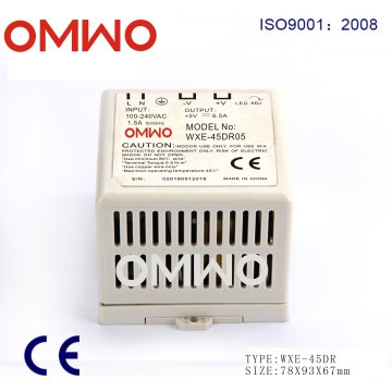 Wxe-45dr-05 45W Single Output Industrial DIN Rail Power Supply