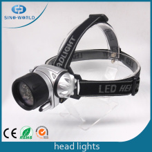 7 LED Battery Powered Waterproof Headlight