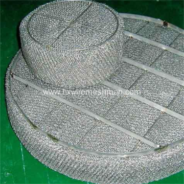 Stainless steel wire mesh demister pad