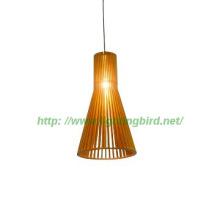 60W wooden pendant decorative lamp, hanging pendant lamp/lights