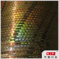 Couleur argent holographique emballage de bandelettes pour la médecine