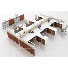 Nueva estación de trabajo de muebles de oficina de estilo con pantalla de partición (HF-YZQ5710)