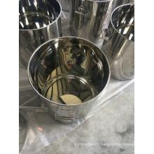 Réservoir de stockage en acier inoxydable pour l'industrie alimentaire / pharmaceutique