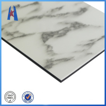 Materiais de construção de painéis compostos de alumínio granito
