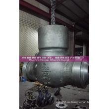 Válvula de retención sellada de presión Swing, ISO Aprroved