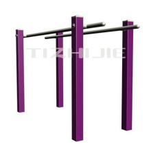 park steel parallel bars outdoor fitness equipment