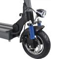 Scooter électrique adulte pliable de coup de pied de moteur de 350W