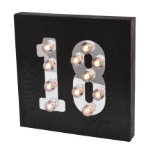 New LED Light with Age for Home Decoration