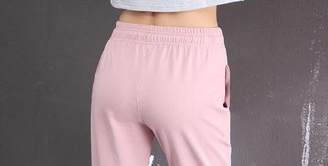 Womens Cotton Sports Pants