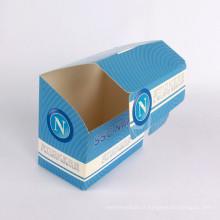 Caixa de papel de tampa de papelão de embalagem dobrável feita sob encomenda