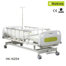 Patented Design Manual Medical Two-Crank Hospital Bed (HK-N204)