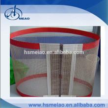Made with 100% high quality PTFE non-stick coating teflon fiberglass conveyor belt